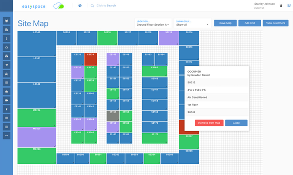 Interactive Facility Map
