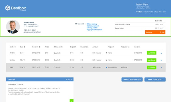 Online Tenant Portal