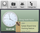 Eylean Board - Eylean Board time tracking day log screenshot