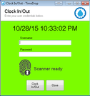 TimeDrop Time Clock clock-in/out