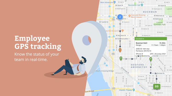Time Tracker GPS Tracking