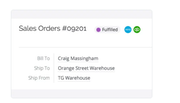 TradeGecko sales order management