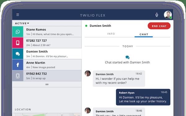 Twilio for Marketing chat