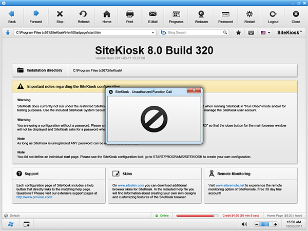 SiteKiosk Software - 2019 Reviews, Pricing & Demo