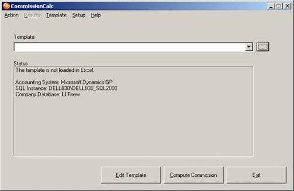 CommissionCalc custom templates