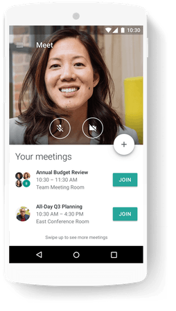 Google Workspace meetings