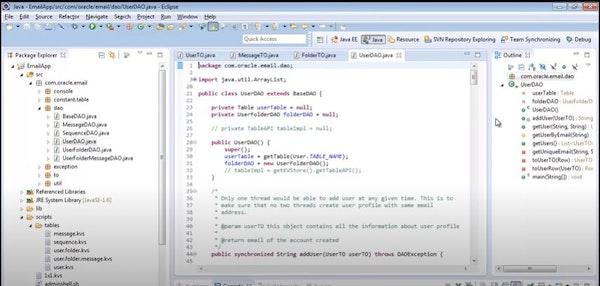 Oracle NoSQL Database userDAO