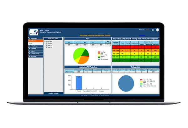 VAIL-PLANT dashboard
