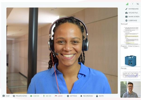 Vectera video conferencing