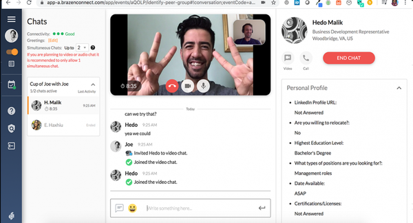 Brazen video conferencing