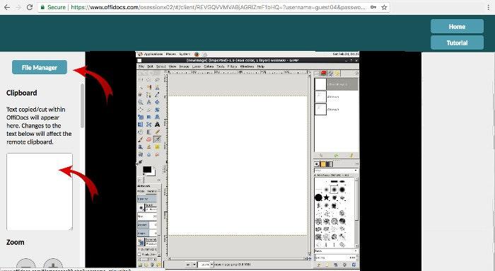 Virtual Linux online space