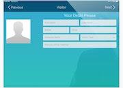 PurelyTracking visitor registration