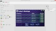 AxisTV calendar dashboard screenshot