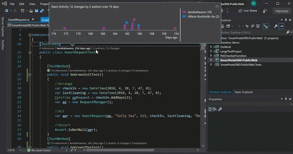 Visual Studio analysis