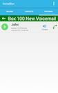 VoiceShot voicemail history