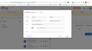 Shared Contacts for Gmail create new contact