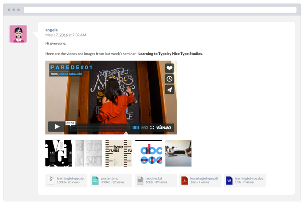 Website Toolbox embed videos
