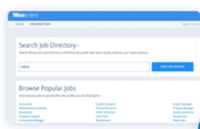 WonScore - WonScore job profile search screenshot