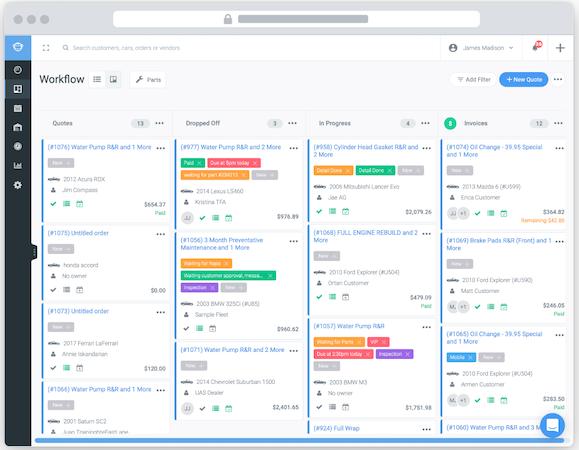 Shopmonkey workflow automation