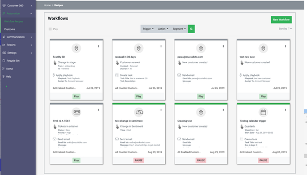 Strikedeck workflows