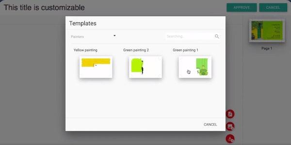 WP2Print templates