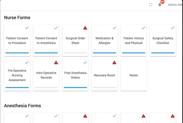 Ambula EMR intake forms