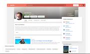 Zapnito user profile management screenshot