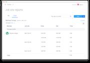 Hubstaff - Hubstaff job site reporting screenshot