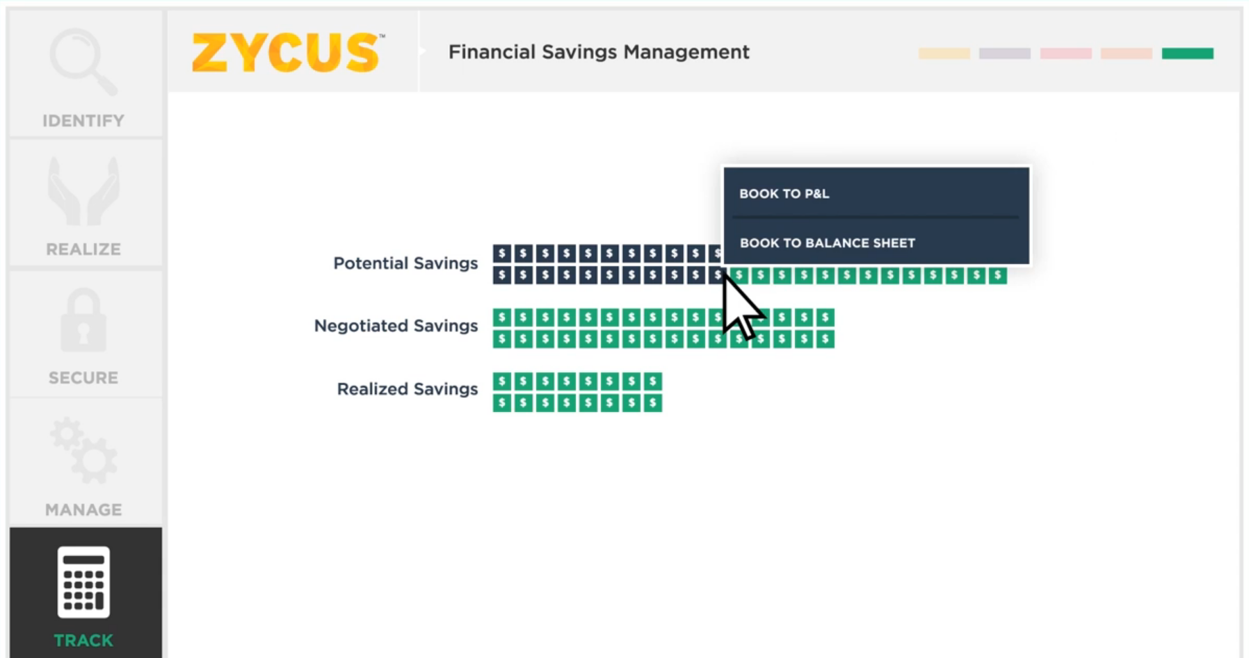 Financial savings management