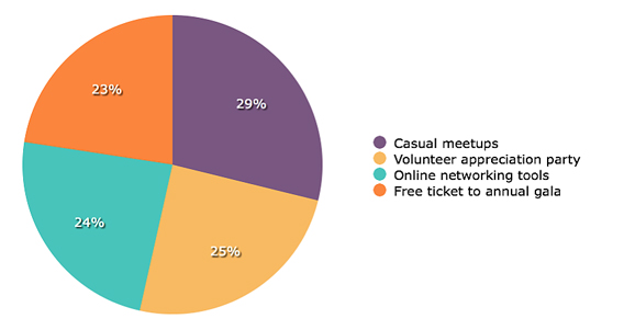 Volunteer Networking Incentives