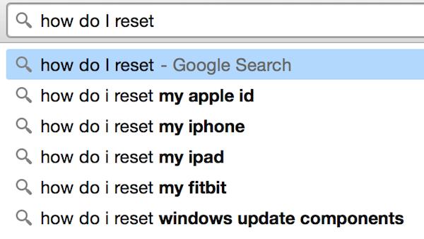 self-service search
