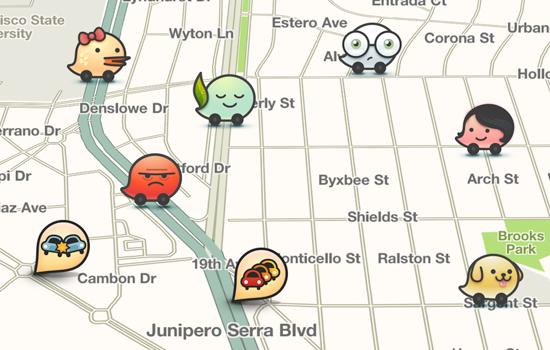 waze app traffic updates