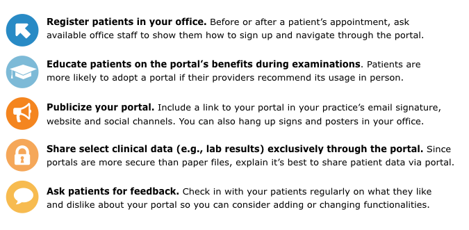 5 Ways to Encourage Patient Portal Use