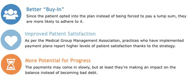 patient payment plan benefits