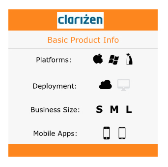 clarizen product info