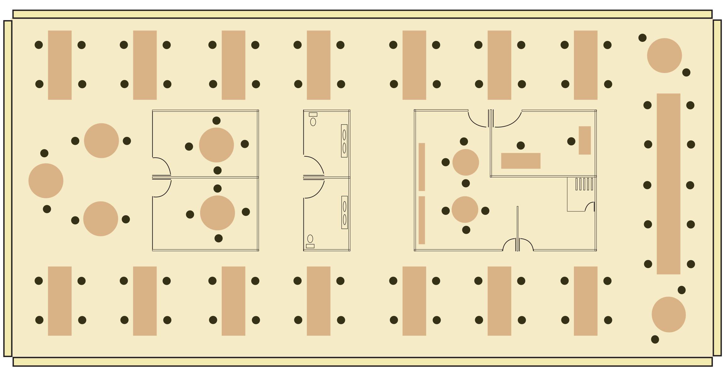 mixed-use floor plan