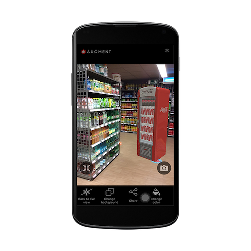 Augmented reality marketing for B2B sales